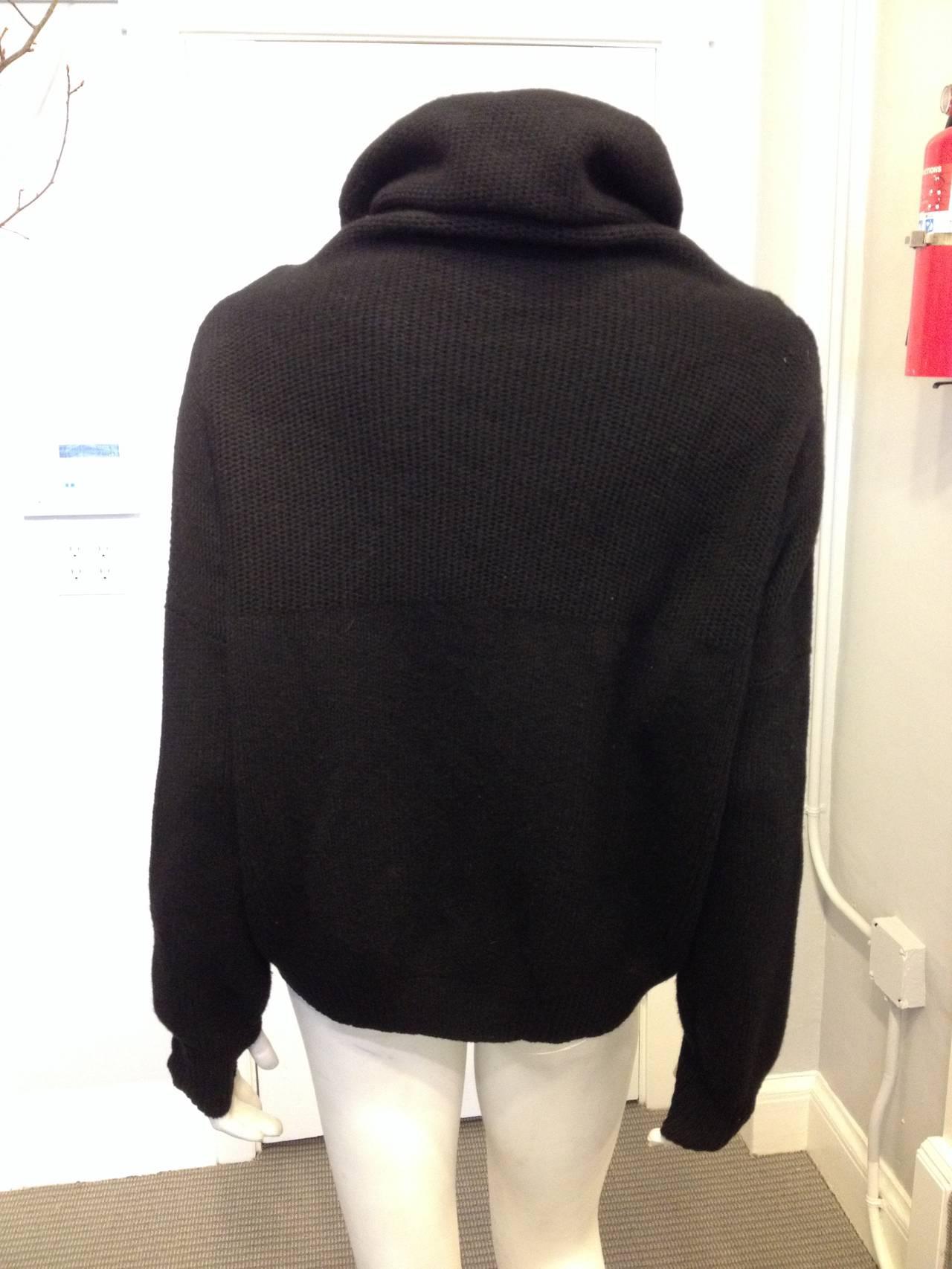 Hermes Black Turtleneck Sweater 5