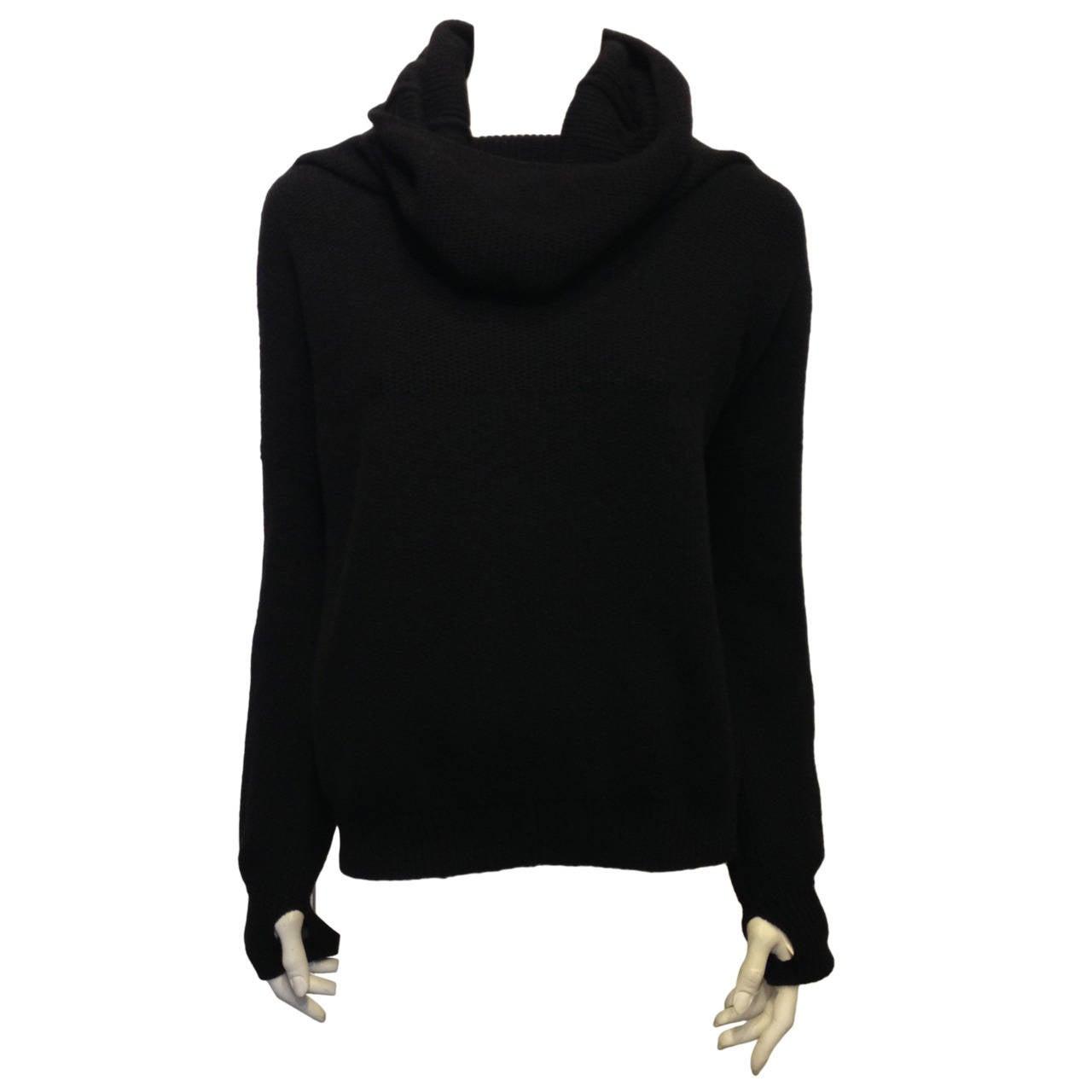 Hermes Black Turtleneck Sweater 1