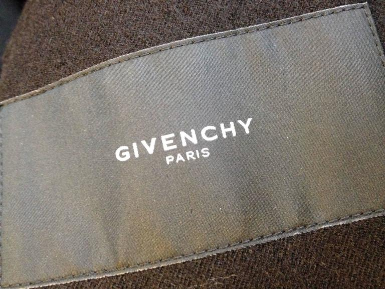 Givenchy Red Runway Jacket Black Star Embellishment Fall-Winter 2012-2013 Sz 38 For Sale 4