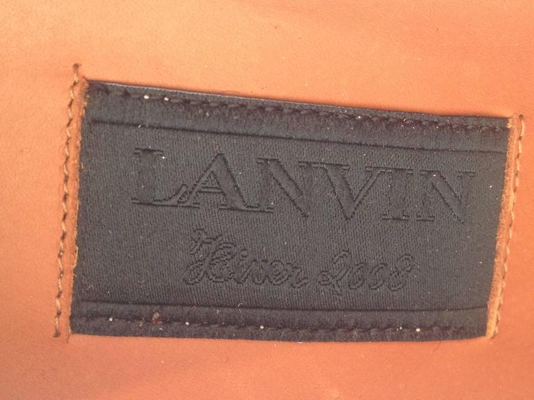 Lanvin Black Ponyhair Pumps For Sale 4