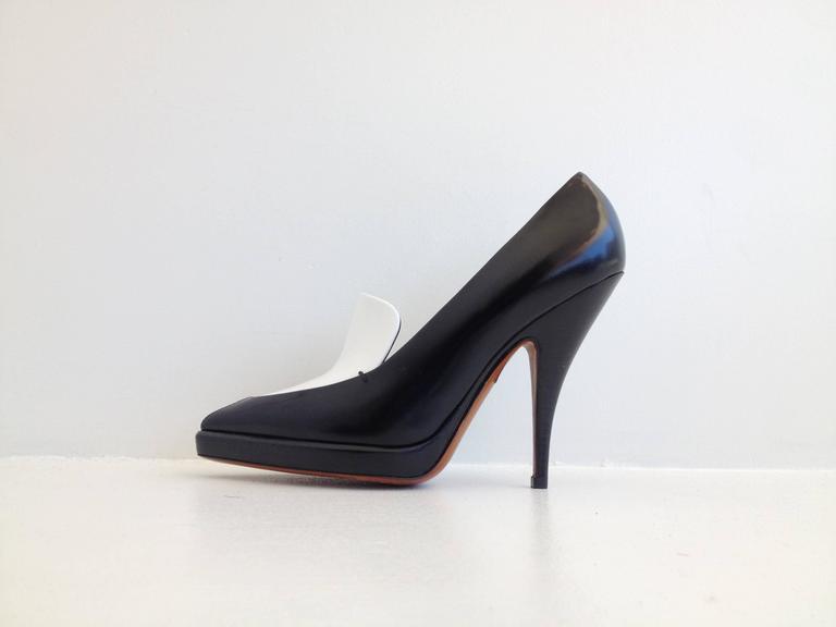 Celine Black and White Pumps Size 37.5 (7) 2