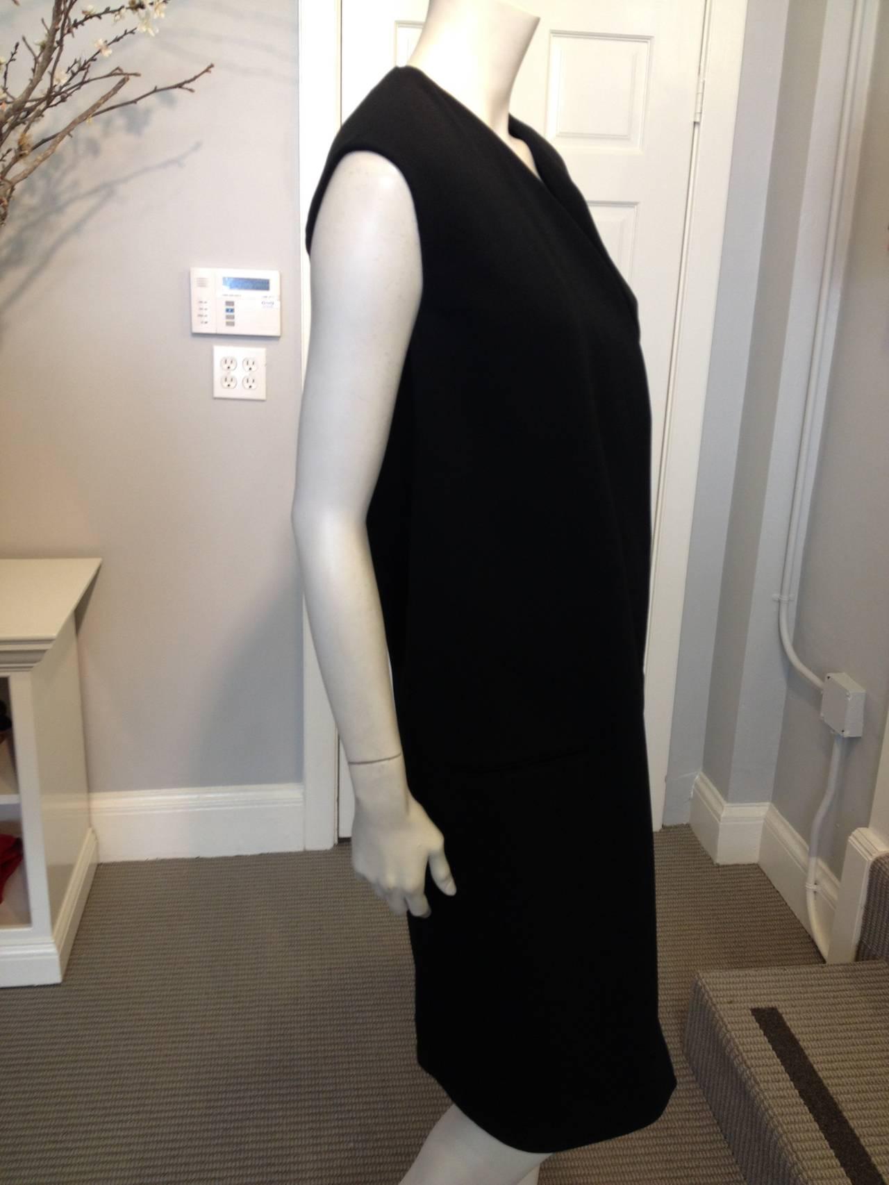 Celine Black Long Vest 3