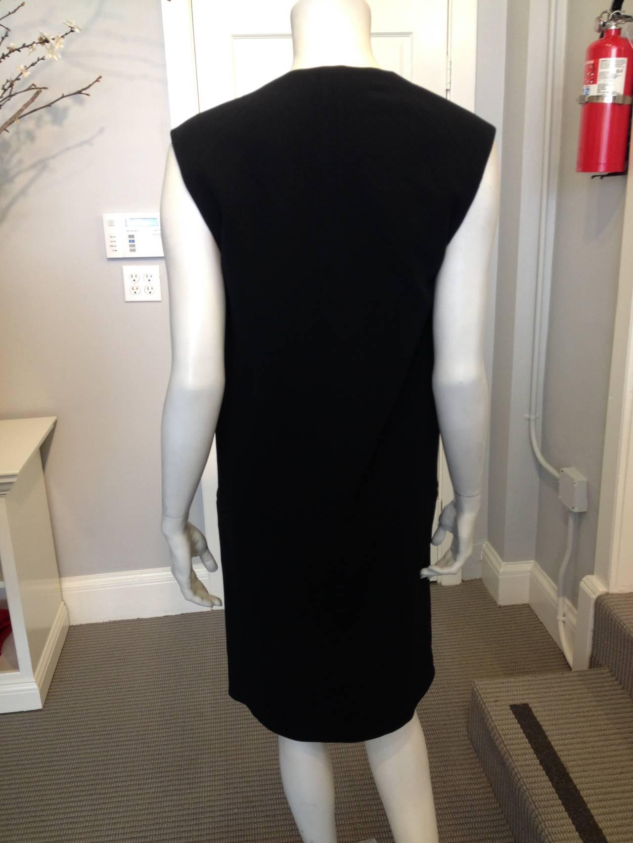 Celine Black Long Vest 5