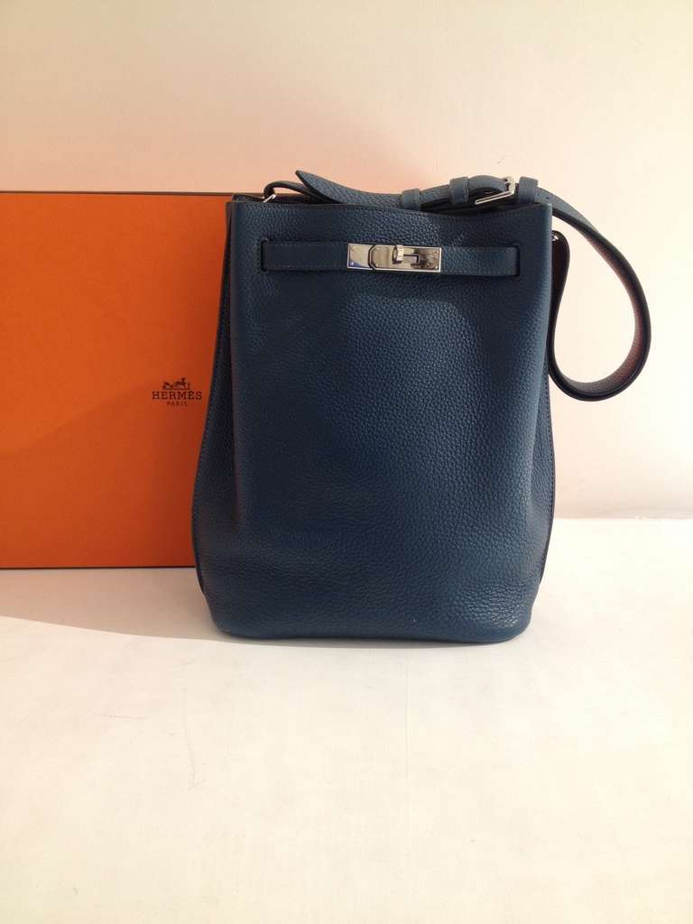 Hermes So Kelly Teal Bag 2