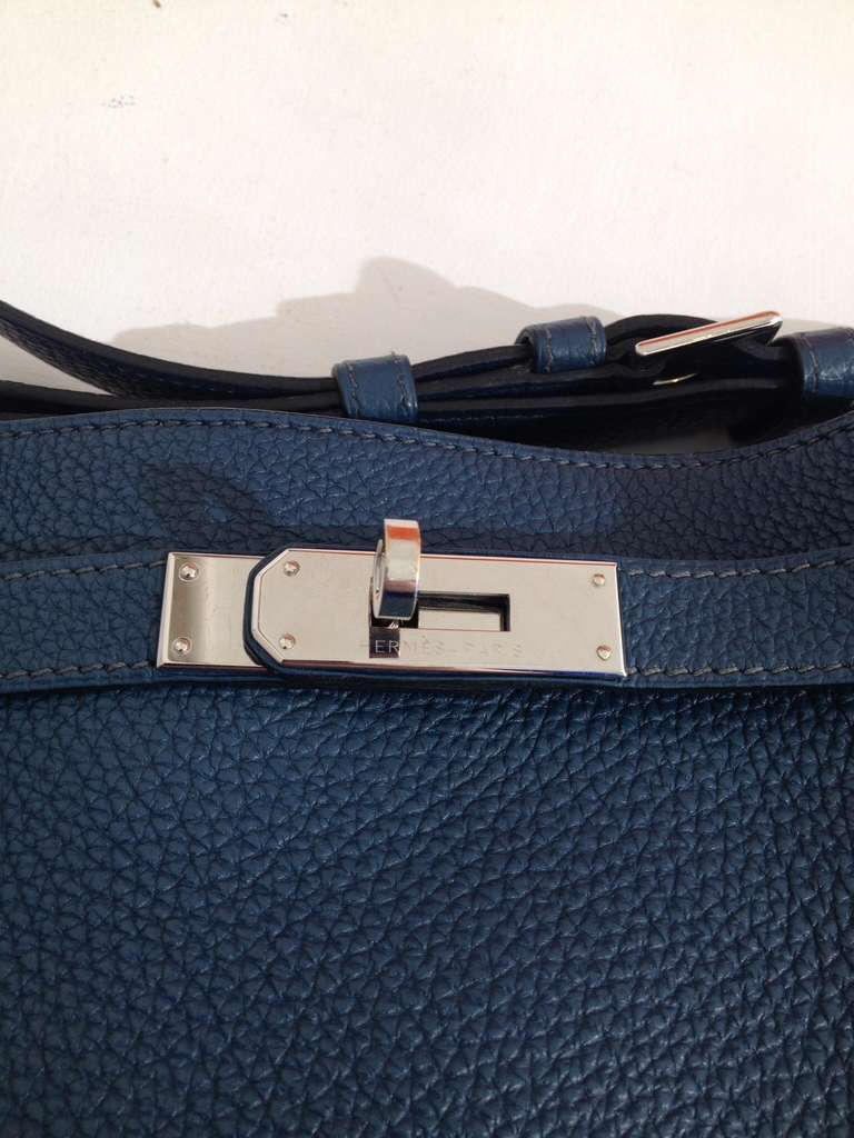 Hermes So Kelly Teal Bag 3