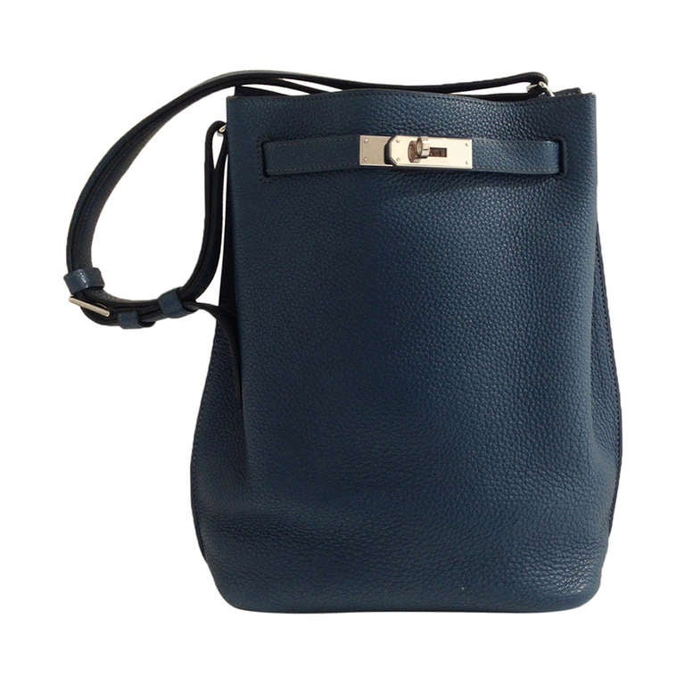 Hermes So Kelly Teal Bag 1