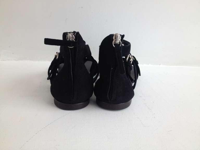 Giuseppe Zanotti Black Gladiator Sandal 3