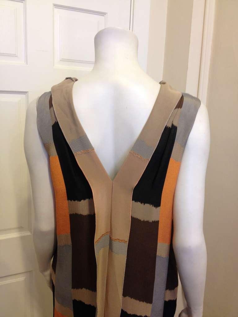 Marni Brown and Orange Dress 5