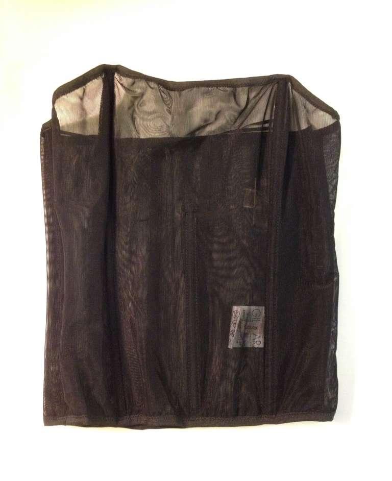 Giambattista Valli Dark Grey Bodycon Dress For Sale 1