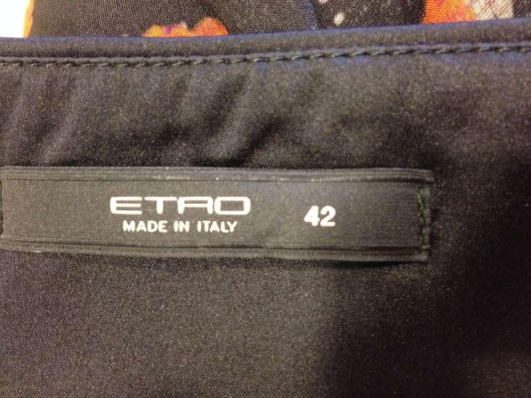 Etro Multicolor One Shoulder Top 5