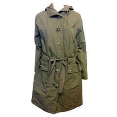 Lanvin Khaki Coat
