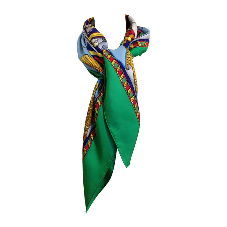 Hermes Reves d'Espace Scarf For Sale