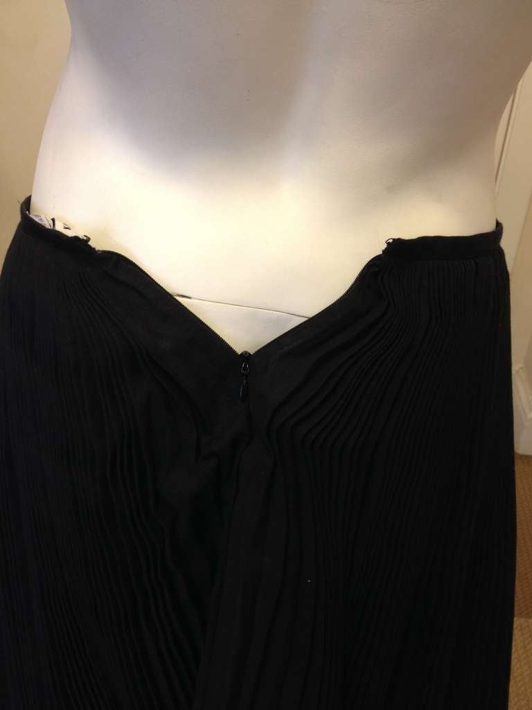 Kaufmanfranco Black Pleated Full Skirt 3