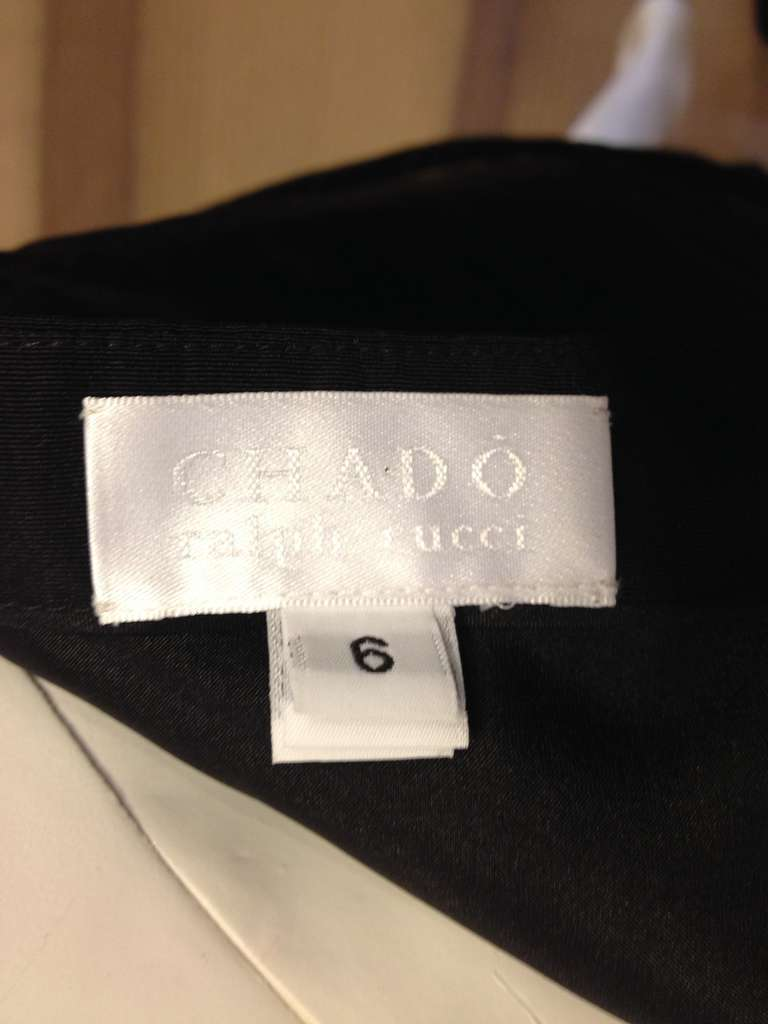 Chado Black A-line Skirt For Sale 2