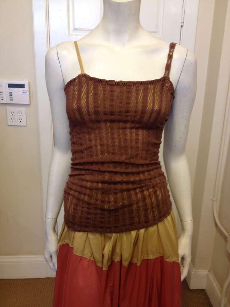 Jean Paul Gaultier Multicolor Maxi Dress 2