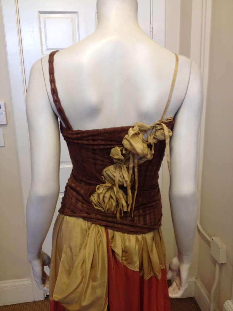 Jean Paul Gaultier Multicolor Maxi Dress For Sale 1