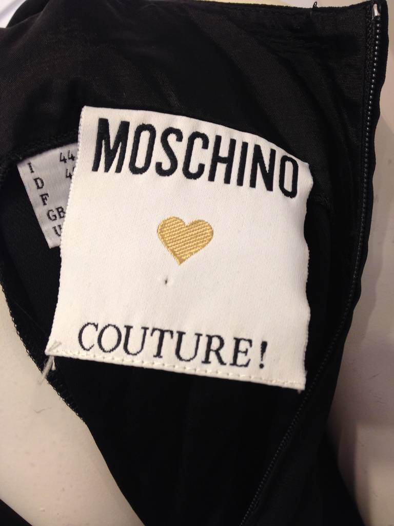 Moschino Black and Gold Ciao! Top 4