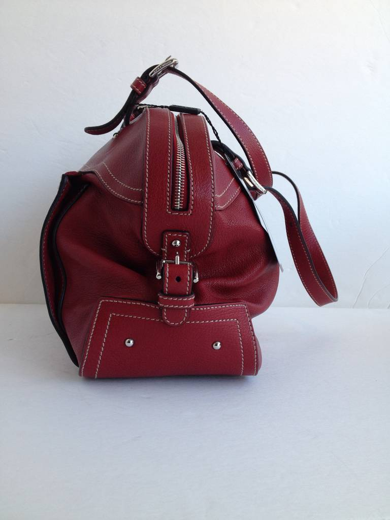 Dolce and Gabbana Red Miss Adventure Bag at 1stdibs