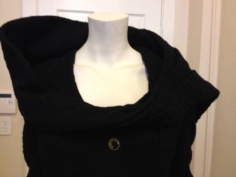 John Galliano Black Jacket with Wrap 3
