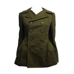 Junya Watanabe Comme des Garcons Olive Army Jacket