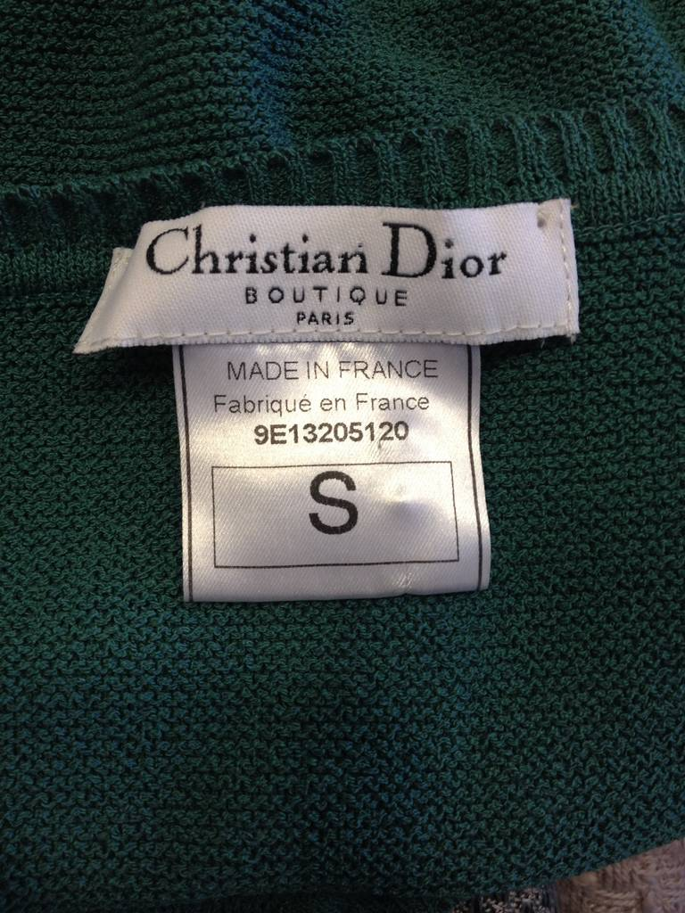 Christian Dior Teal Lace Twinset 6