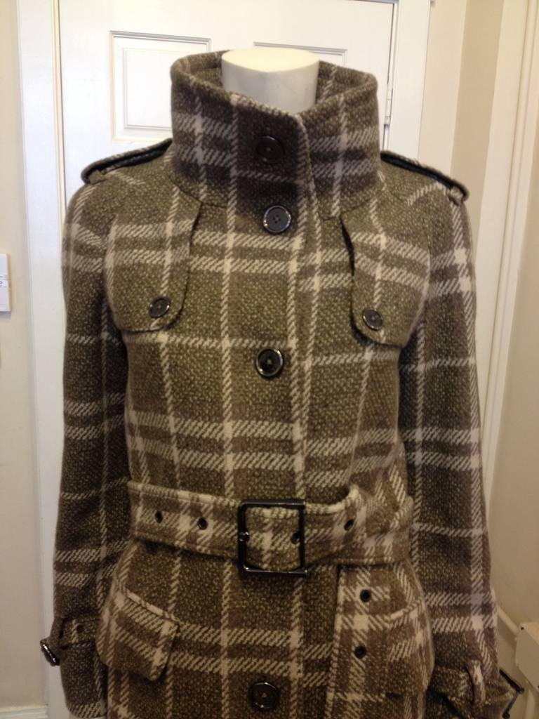 Burberry exemplifies easy, cool, and quintessentially British style so well. This wooly coat is equal parts English countryside and sharp London style - it's tough and durable enough for a cold winter, but is fashionable enough that you'll want to