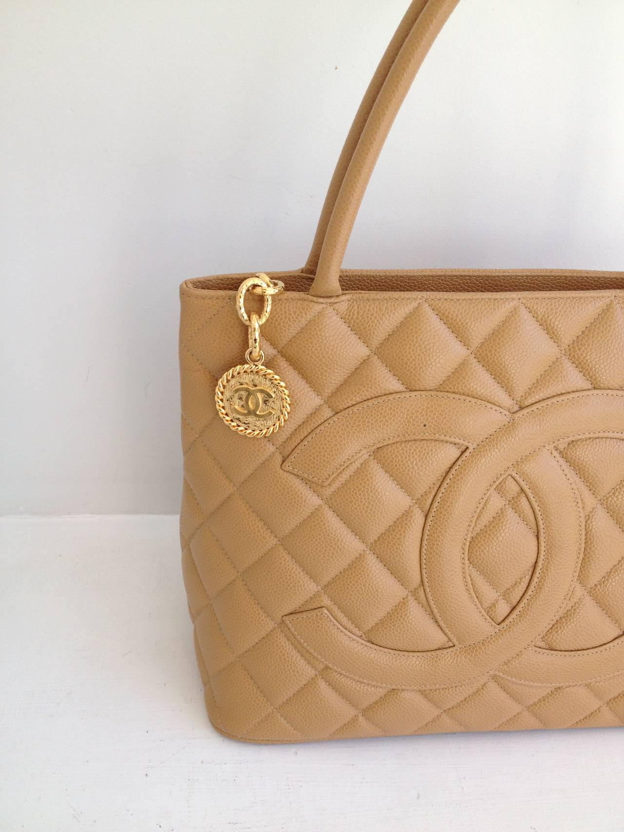 The Quilting And Double C Logo Make This Bag Iconically Chanel But Linear