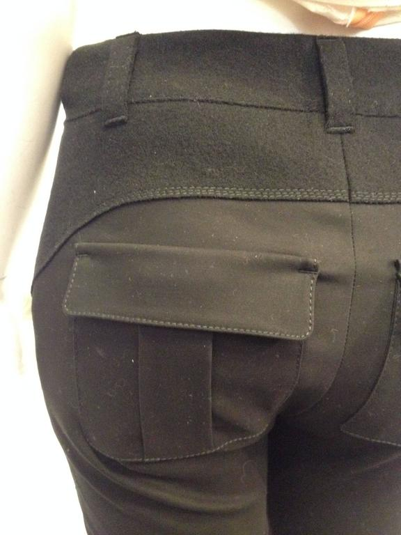 Louis Vuitton Black Cargo Pants Size 36 (4) 6
