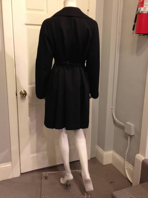 Women's The Row Black Trench Coat For Sale