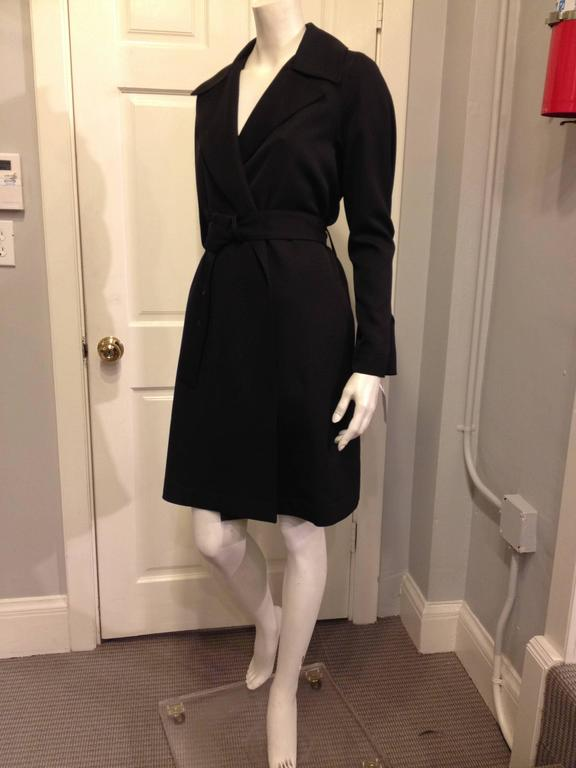 The Row Black Trench Coat In New Never_worn Condition For Sale In San Francisco, CA
