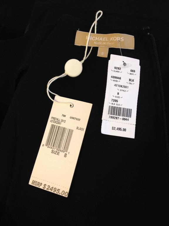 Michael Kors Black Mid-length Dress 8