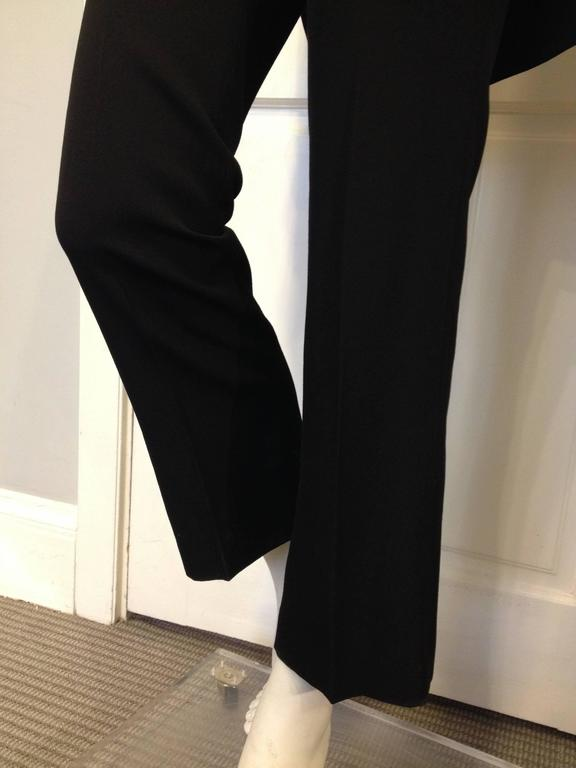 Givenchy Black Wool Pant with Tailcoat Hem 7