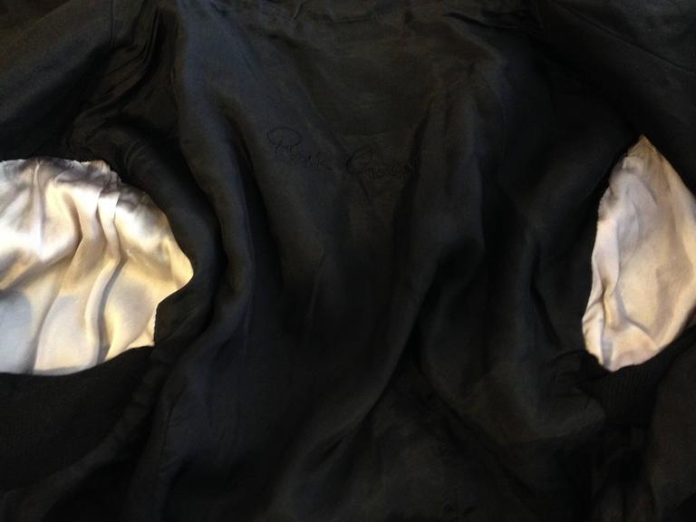 Rick Owens Black Leather Jacket 9
