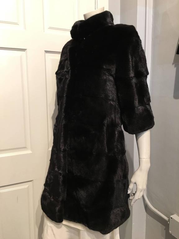Fendi Black Mink Coat 3