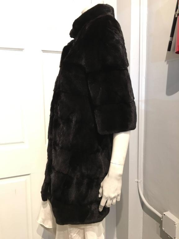 Fendi Black Mink Coat 4