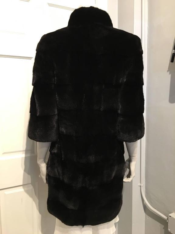 Fendi Black Mink Coat 5