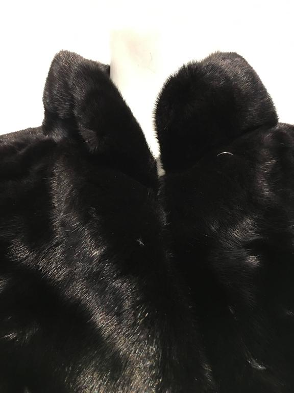 Fendi Black Mink Coat 6