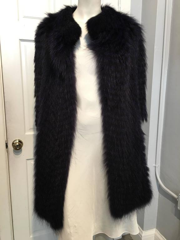 Cassin Dyed Raccoon Fur Coat 3
