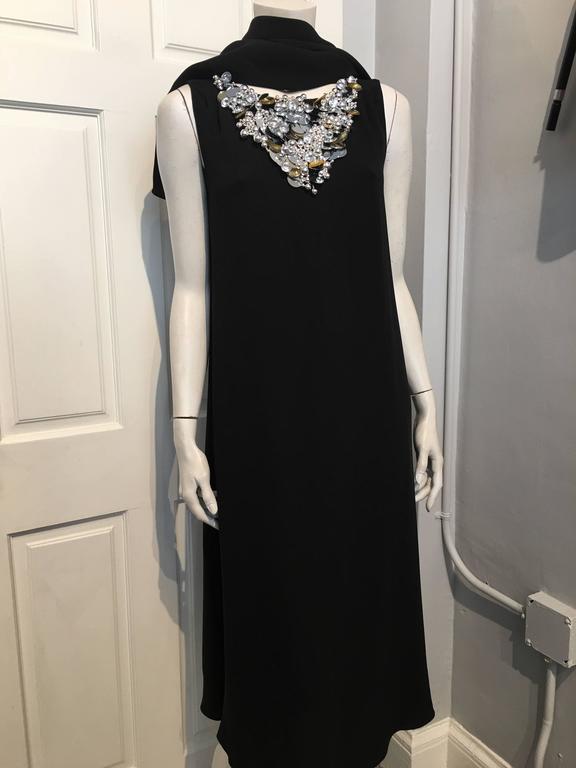 Chanel Embellished Black Cocktail Dress (Resort 2015) 6
