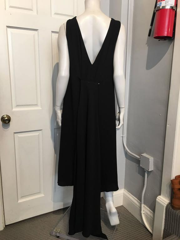 Chanel Embellished Black Cocktail Dress (Resort 2015) Sz 42 (Us 10) In New never worn Condition For Sale In San Francisco, CA