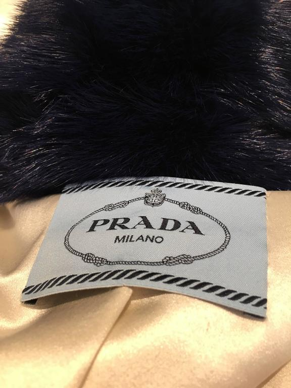 Rare Prada Face Mink Fur Coat (Spring 2014 Ready-to-Wear) For Sale 4