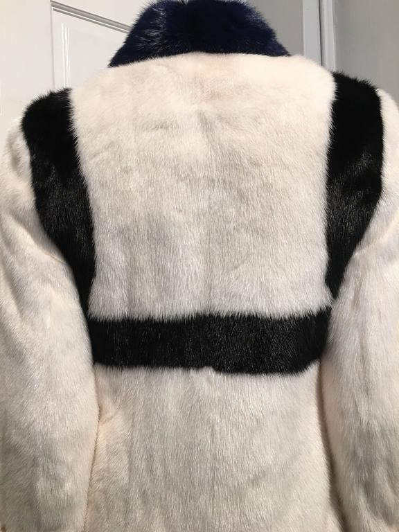 Women's Rare Prada Face Mink Fur Coat (Spring 2014 Ready-to-Wear) For Sale