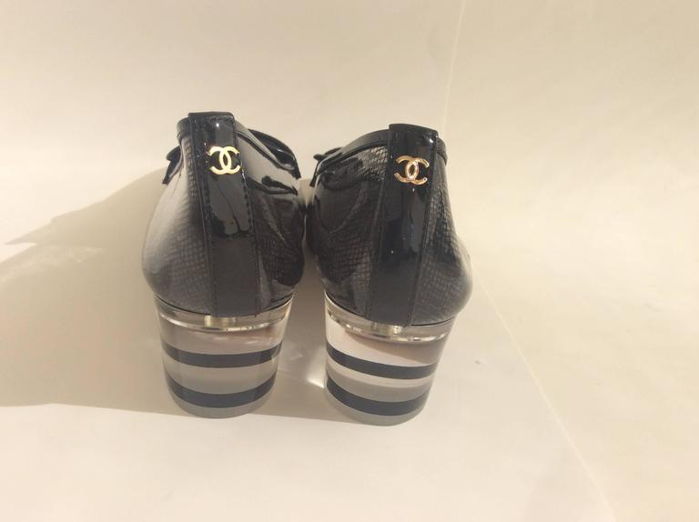 Clear Plastic Chanel Loafers 2