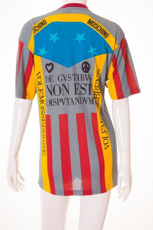 Moschino 'Ready to Where?' Cyclist Jersey 3