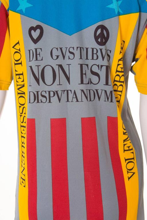Moschino 'Ready to Where?' Cyclist Jersey 6