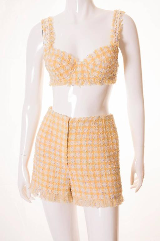 Important Chanel S/S 1994 Bra, Jacket and Short Set 3