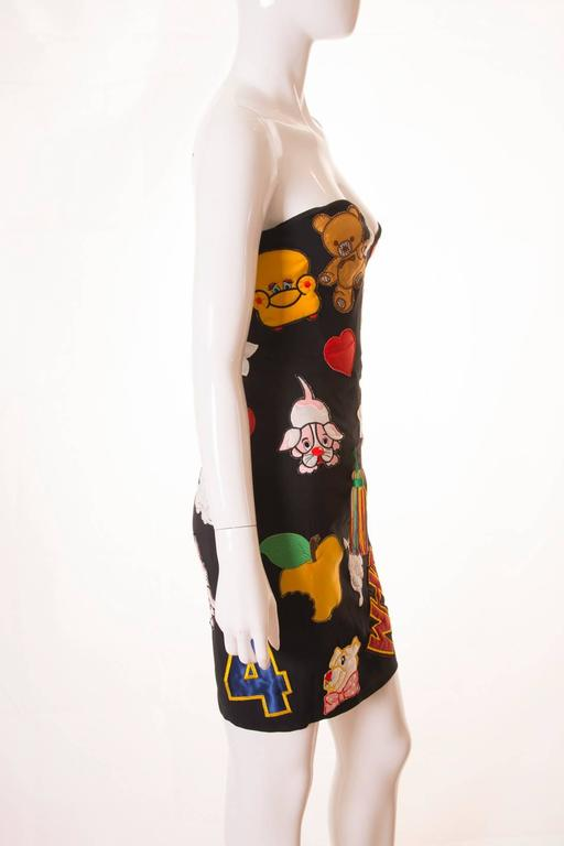 Documented Franco Moschino S/S 1988 Patch Dress 2