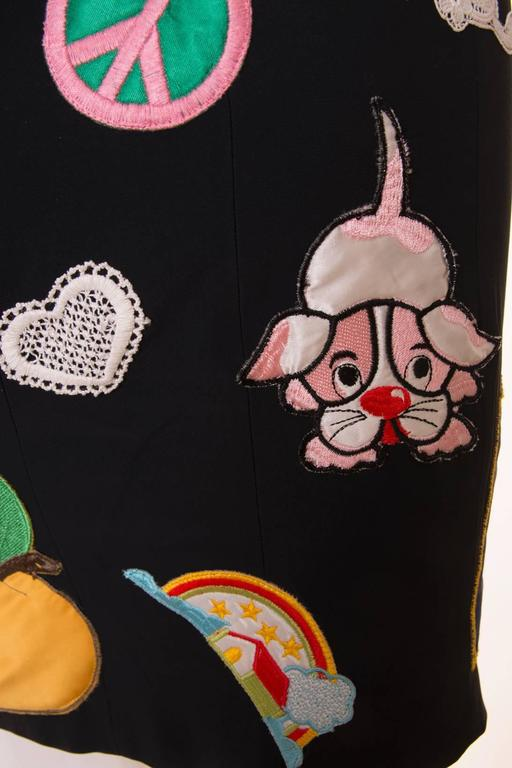 Documented Franco Moschino S/S 1988 Patch Dress 5