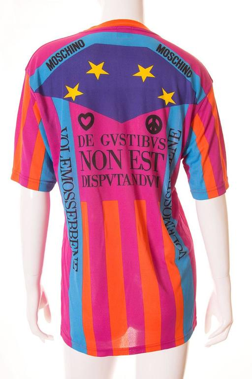 "Moschino ""Ready to Where?"" Cyclist Jersey Tshirt 2"