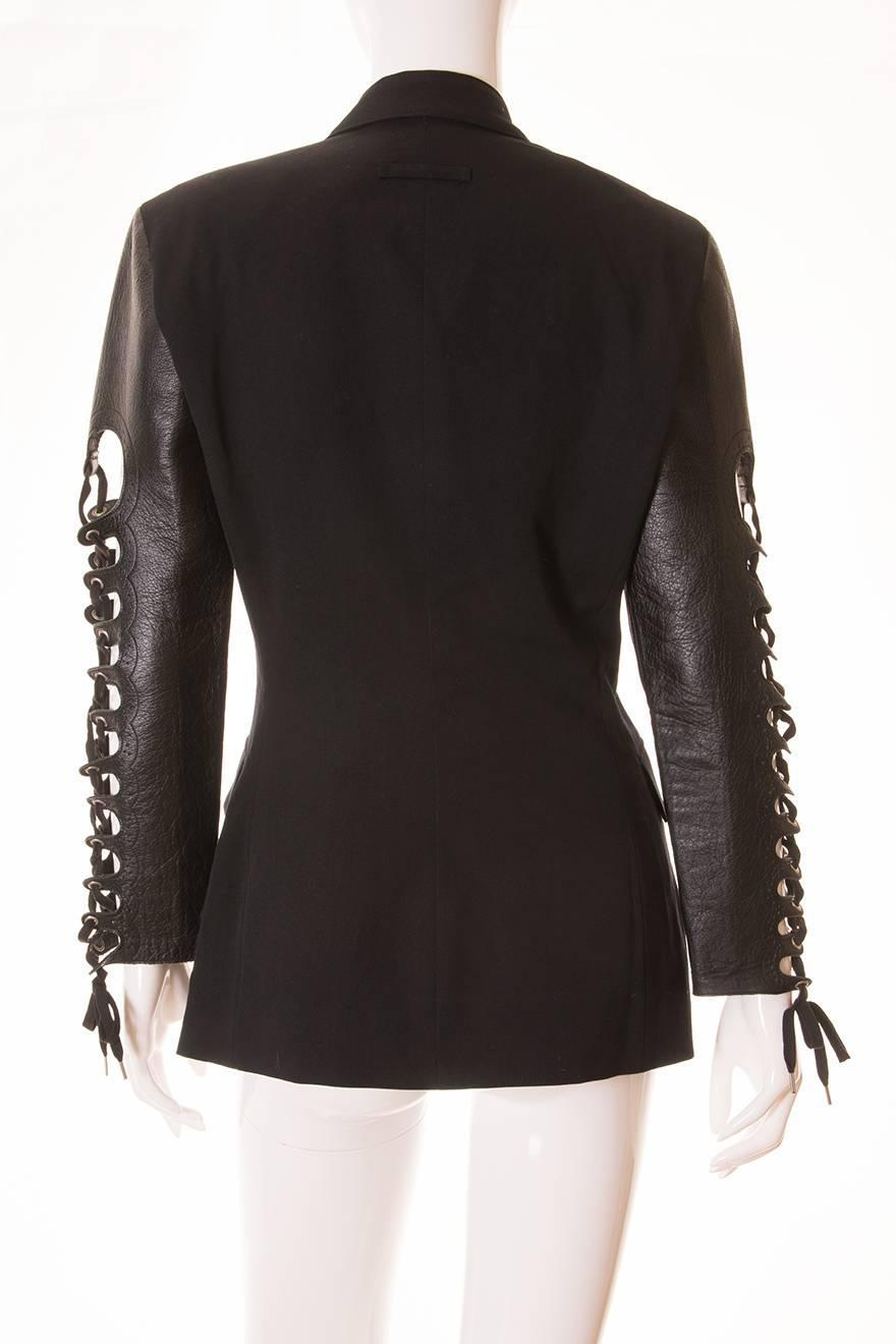 Find blazer jacket with leather sleeves at ShopStyle. Shop the latest collection of blazer jacket with leather sleeves from the most popular stores -.
